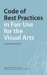 Best Practices in Fair Use for the Visual Arts